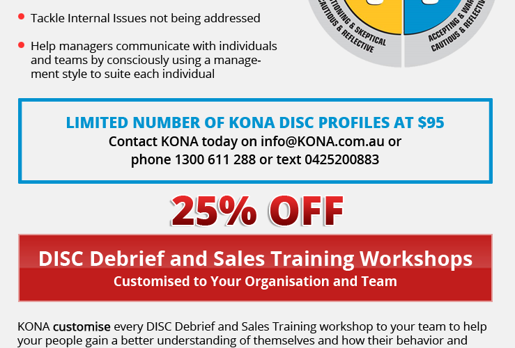 DISC Personality Profiling for only $95!