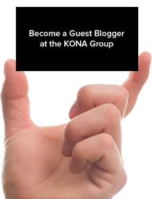 Become a Guest Blogger at the KONA Group - KONA Group