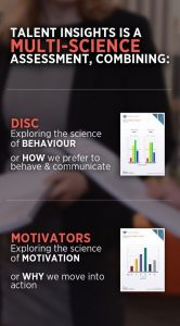 Kona Multi Science DISC Talent Insights Model Infographic