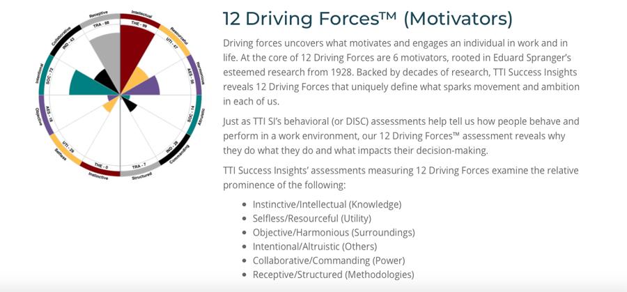 Workplace Motivators Report