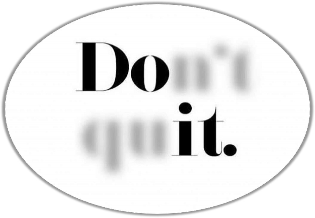 leaders fears quote about Don't Quit