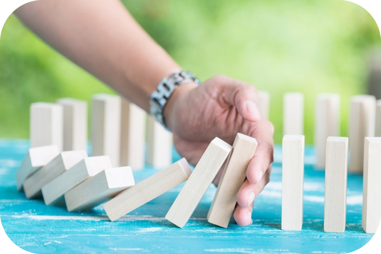 leaders fears stopping dominoes falling responsibility image