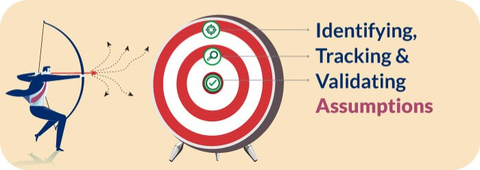 identifying tracking and validating assumptions in sales