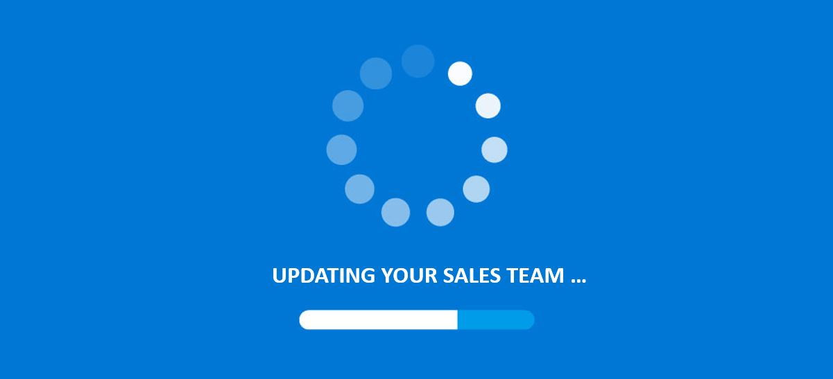 UPDATING YOUR SALES TEAM IMAGE WITH UPDATE SPINNING WHEEL ICON FOR KONA GROUP SALES COMPTENTCIES